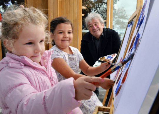 Kids art to be auctioned May 13