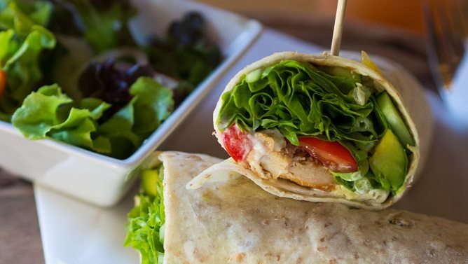 Recipe of the Month – Marinated Chicken Wrap