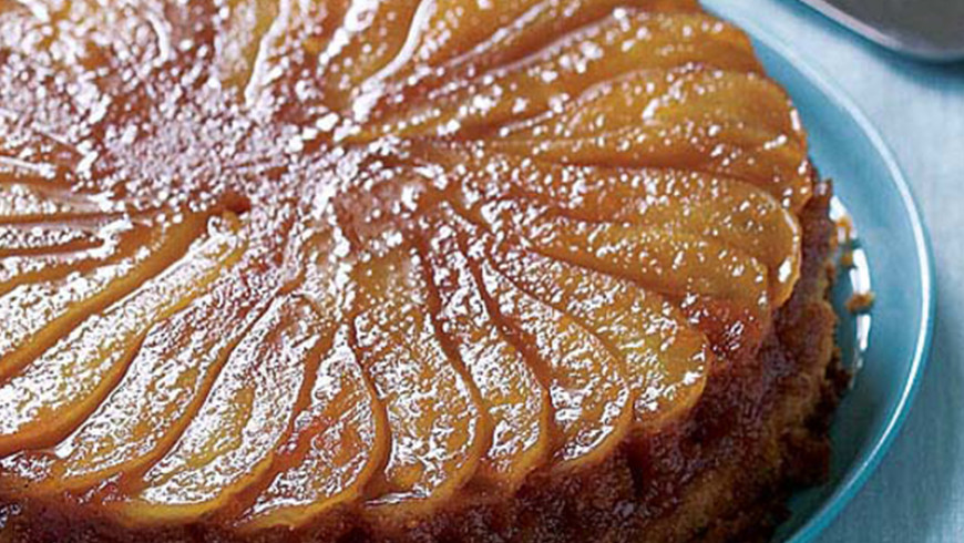 Recipe of the Month – Pear Cake