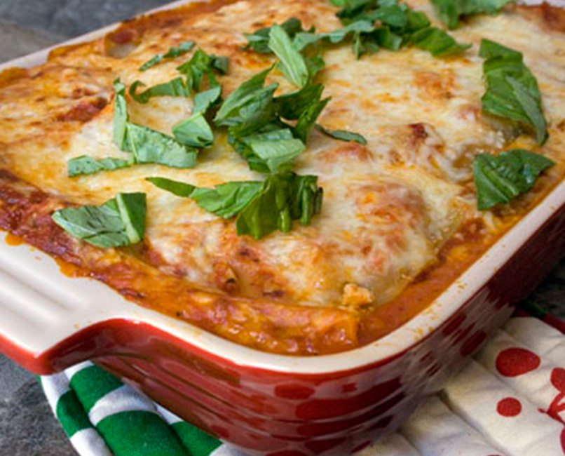 Recipe of the Month | Vegetarian Lasagna