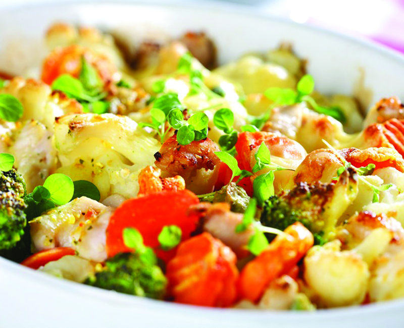 Recipe of the Month | Chicken and Vegetable Casserole