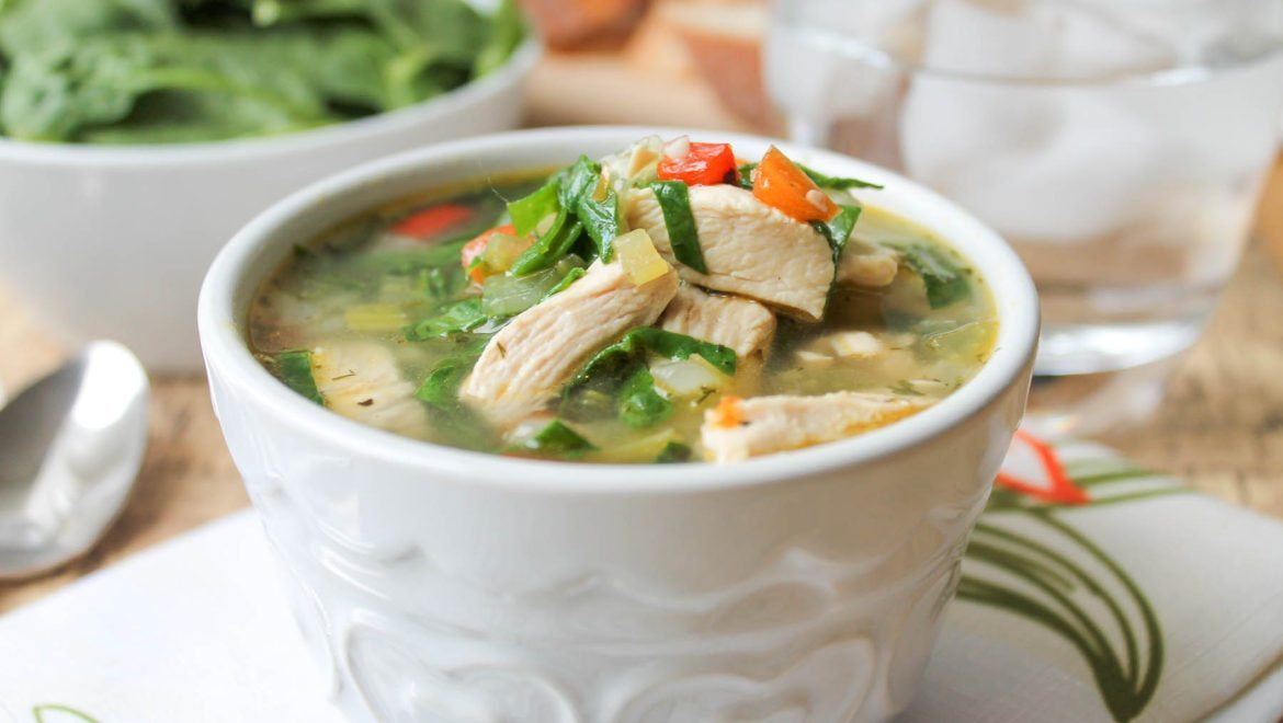 Recipe of the Month   Chicken & Vegetable Soup