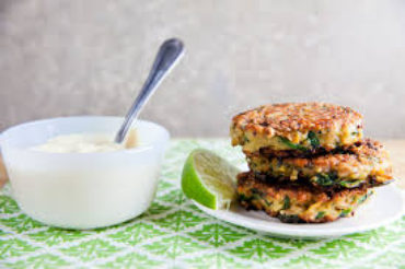 Recipe of the Month | Broccoli and Sweet Potato Pancakes