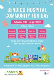 Bendigo Community Day Poster