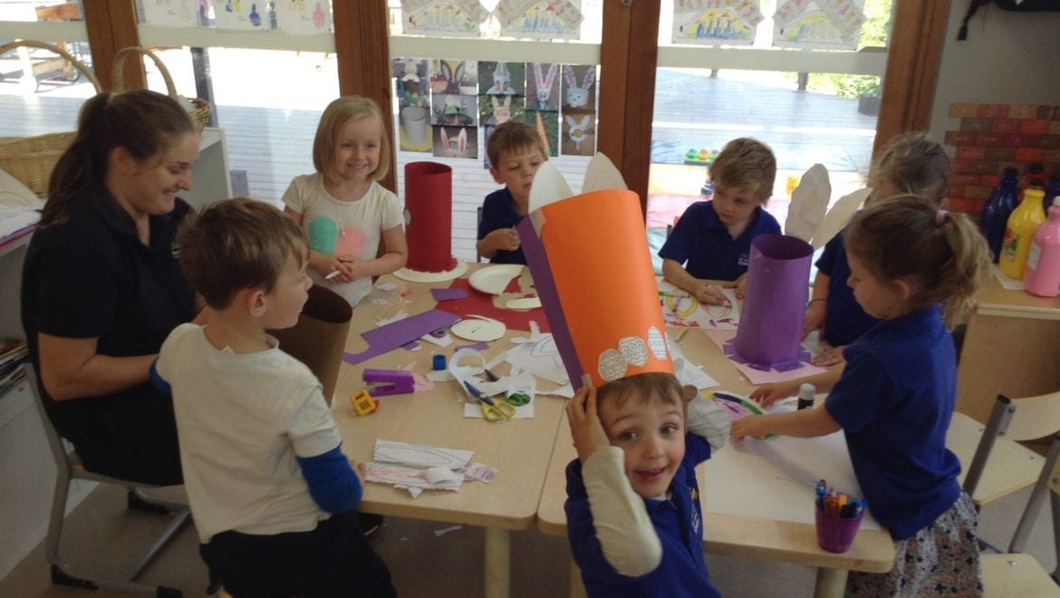 Easter Hat Parade at Jenny's ELC | Thursday 13th April 2017