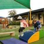 Jenny's ELC Epsom kids out at play