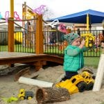 Jenny's ELC Epsom kids sand and trucks