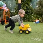 Jenny's ELC Maiden Gully fun with a truck